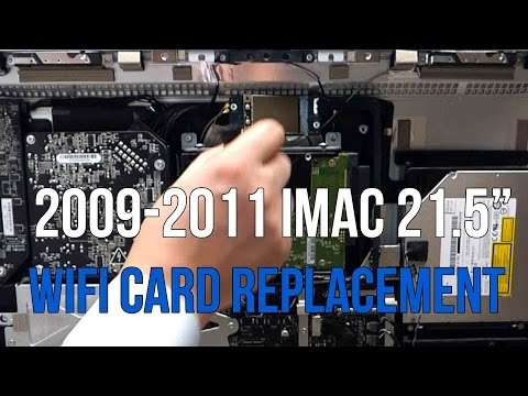 iMac Airport Card WiFi Replacement 2009 2010 2011 21 5
