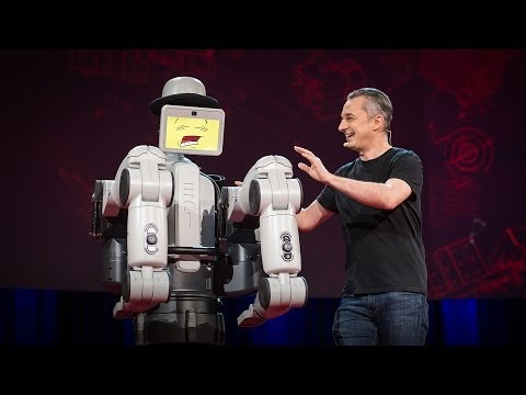 watch Maybe the best robot demo ever | Marco Tempest