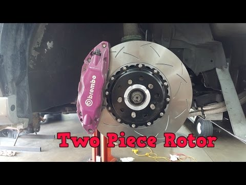 Car Build: 04 Subaru WRX STi Ep. 42 - How To Change STi Brembo Brakes.