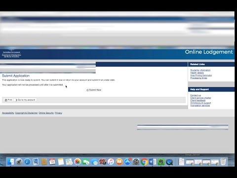 Submitting Visa Application Online Part 2
