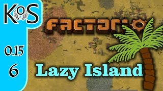 Factorio 0 15 Lazy Bastard Achievement Ep 5: THE MALL ARISES - Lazy
