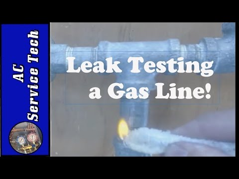 Leak Check Gas Lines! Flame, Soapy Dish Detergent & Water, or Specifically Designed Bubble Detector?