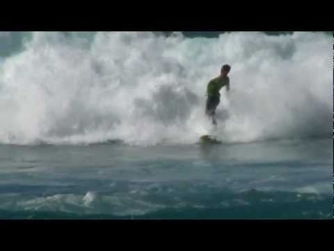 Surfing - Hawaii North Shore - Surfers Riding Big Waves in Oahu, HI