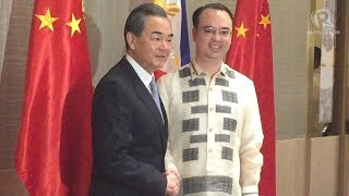 Chinese Foreign Minister Wang Yi visits the Philippines