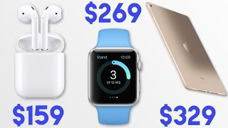 Are Apple Products slowly getting Cheaper?