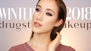 WINTER 2018 DRUGSTORE MAKEUP TUTORIAL
