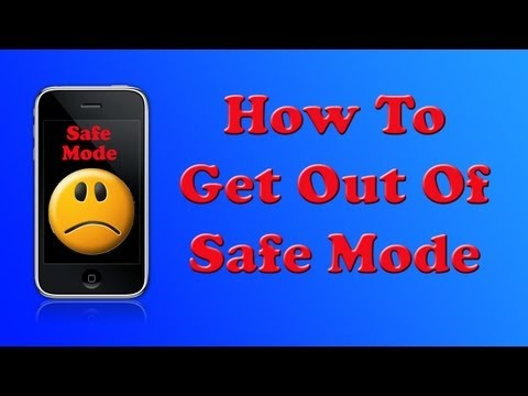 How To Fix 'Safe Mode' on iPhone