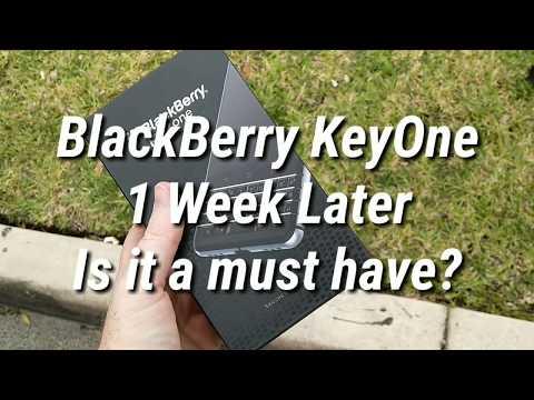 BlackBerry KeyOne 1 Week Later. Still Buy?
