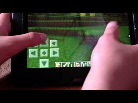 How to make a nether portal on minecraft pocket edition!