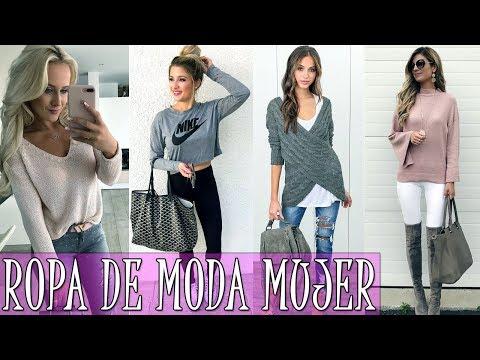 ROPA DE MODA PARA ADOLESCENTES 2017-2018 | MODA PARA MUJER TV