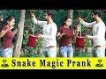 Snake Magic Prank On Girls Prank In India 2019 Funday Pranks
