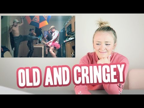 REACTING TO MY FIRST YOUTUBE VIDEO | Meghan McCarthy