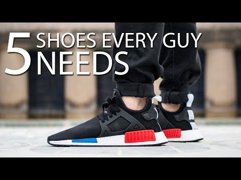 5 SHOES EVERY GUY NEEDS TO OWN | Must Have Sneakers for Men | Alex Costa