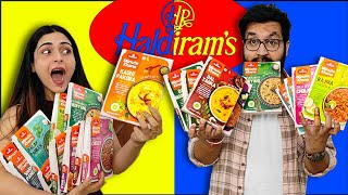 We Tried Every HALDIRAM Meal 😱 || This Was Not Expected..... 😨