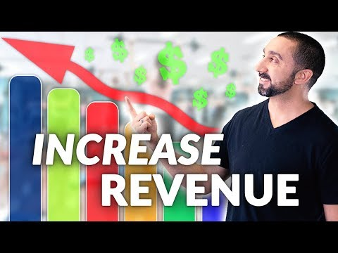 3 Ways To Increase Revenue