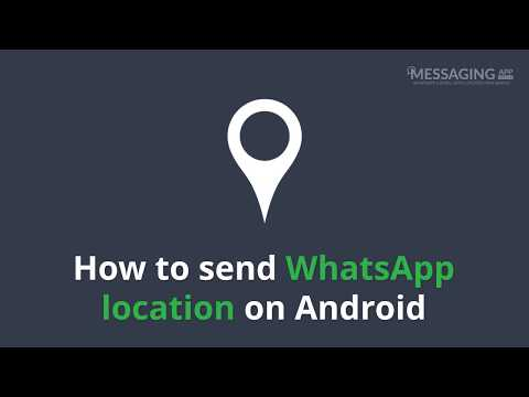 How to send WhatsApp location on Android