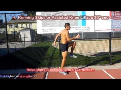 5 Min Warm Up Routine: Distance Running Drills to Run Faster