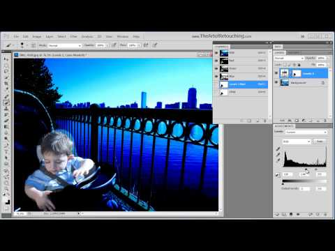 Alpha Channels For Masking - Photoshop Tutorial