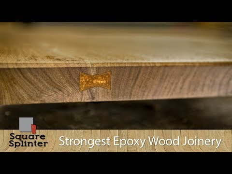 New Type of Wood Joinery - Is it the Strongest? | Epoxy Experiment