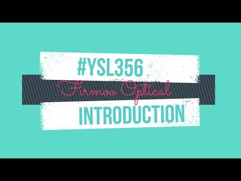 Glasses Introduction #YSL356 | Firmoo Optical