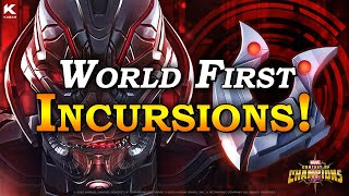 World First Incursions! | Marvel Contest of Champions