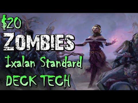Mtg Budget Deck Tech: $20 Zombies in Ixalan Standard!