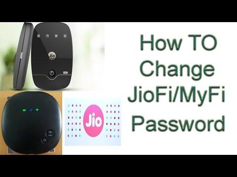 [HINDI]How To Change Password Of JioFi/MyFi