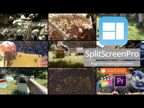 SplitScreen Pro for FCP X, Premiere Pro & Motion