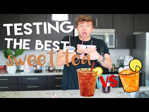 TESTING THE BEST SWEET TEA