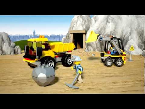 덤프트럭과 불도저 - 레고 시티 - 4201 - 제품 동영상