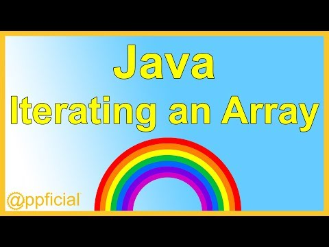 Iterating an Array using a For Loop - Initializing and Printing Arrays Java Tutorial - Appficial