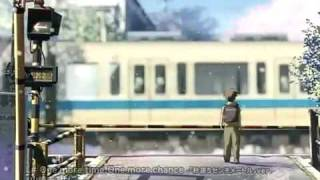 """One more time, one more chance"" -Masayoshi Yamazaki (5 Centimeters Per Second OST )"