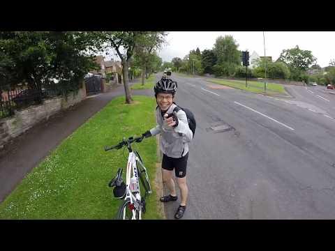 Bike fall, SPD clipless pedal fail