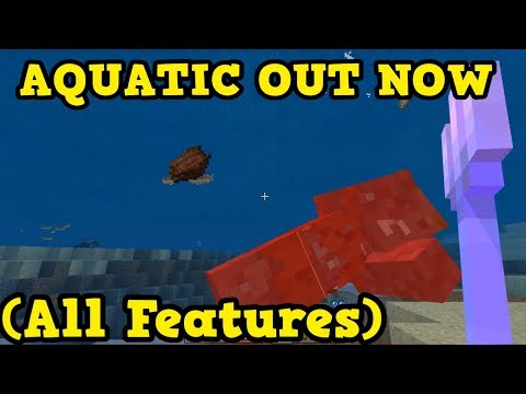 Minecraft 1.4 Aquatic Update OUT NOW All NEW FEATURES