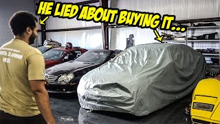 We Bought A New PROJECT CAR With Some BIG SURPRISES (Tavarish LIED About It)