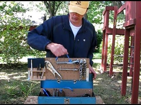 How to Easily Build a Highly Organized Tool Box Part 2: Hanging the Tools