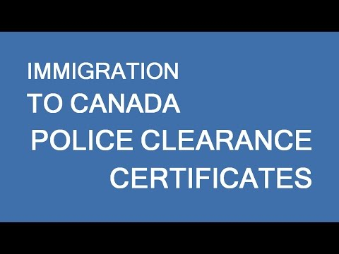 Police certificate issues for immigration to Canada. What to do? LP Group