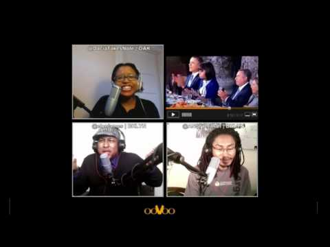 Michelle Obama's EPIC Side-Eye on ooVoo Watch Together with Elon James White & #TWIBradio