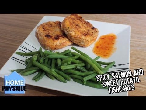 Spicy Salmon and Sweet Potato Fishcake Recipe | Bodybuilding Meal