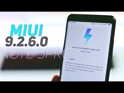 MIUI v 9.2.6.0 [Global Stable] on Redmi Note 5 Pro | Additions + Fixes