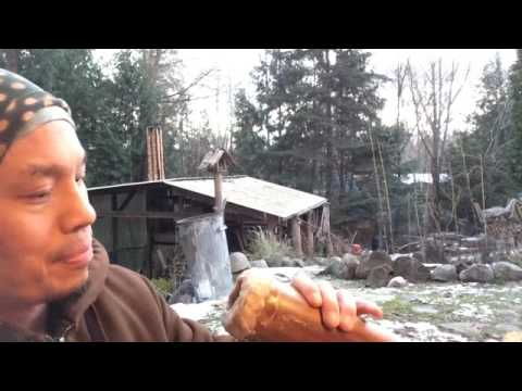 Making a Beeswax Mouthpiece for Didgeridoo