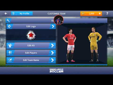 how to download fc barcelona s logo and kit in dream league soccer