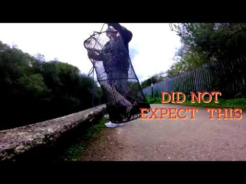 WOW fantastic throw, net full crayfish  magnet fishing the river lea 👍