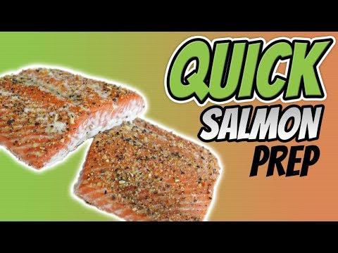 How To COOK SALMON IN BULK [Baked Lemon Pepper Wild Salmon Recipe]