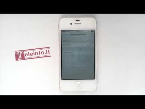 How to manually select network iPhone 4, 4s, 5, 5s, 6, 6plus