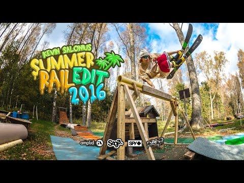 Kevin Salonius - Summer Rail 2016