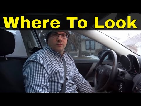 Where To Look When Turning-Beginner Driving Lesson
