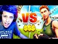 FAN CHALLENGED Me To A 1V1 WAGER LIVE Fortnite Battle Royale