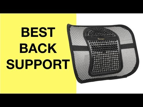Amazing Facts for BEST Back Support For Office Chair & Car (LUMBAR SUPPORT PILLOW LOW BACK PAIN)