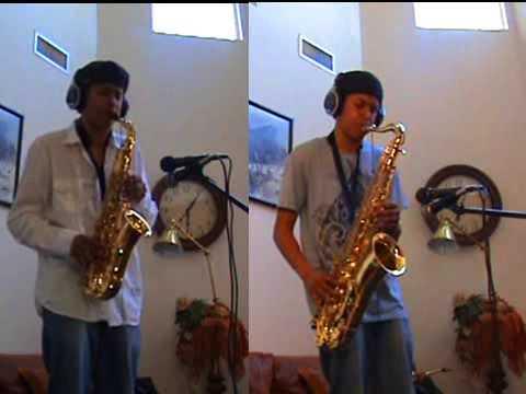 Beyoncé  - Halo - Alto and Tenor Saxophone Duet by charlez360